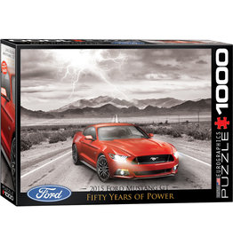 Eurographics 2015 Ford Mustang GT 50 Years of Power - 1000 Piece Puzzle