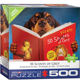 Eurographics 50 Scents of Grey - 500 Piece Puzzle