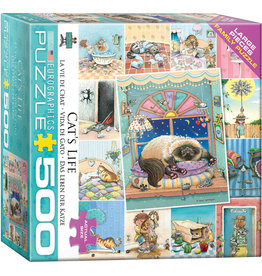 Eurographics Cat's Life - 500 Piece Puzzle