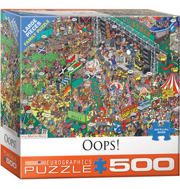 Eurographics Oops! - 500 Piece Puzzle