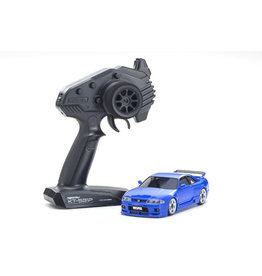 Kyosho 32616BL - Mini Z AWD Skyline GT-R R33 - Blue