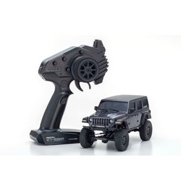 Kyosho 32521GM - MINI-Z 4×4 Jeep Wrangler Unlimited Rubicon Readyset - Granite Crystal Metallic