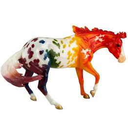 Breyer Spectrum Appaloosa Rainbow Horse Traditional