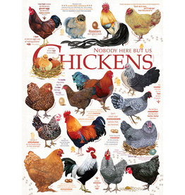 Cobble Hill Chicken Quotes - 1000 Piece Puzzle