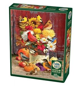 Cobble Hill Autumn Bouquet - 1000 Piece Puzzle