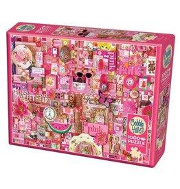 Cobble Hill Pink - 1000 Piece Puzzle