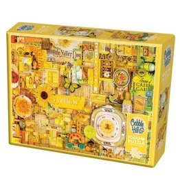 Cobble Hill Yellow - 1000 Piece Puzzle