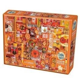 Cobble Hill Orange - 1000 Piece Puzzle