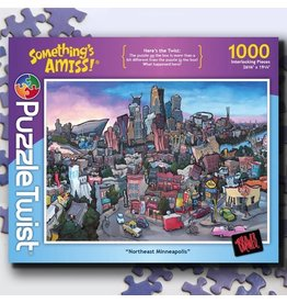 Puzzle Twist Northeast Minneapolis - 1000 Piece Puzzle