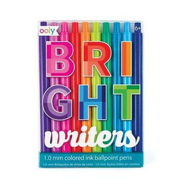 Ooly Bright Writers Ball Point Pens