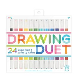 Ooly Drawing Duet Double Ended Markers