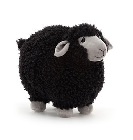 Jellycat Rolbie Black Sheep - Medium