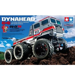 Tamiya 1/18 Dynahead 6X6 Off-Road Vehicle - G6-01TR Chassis Kit