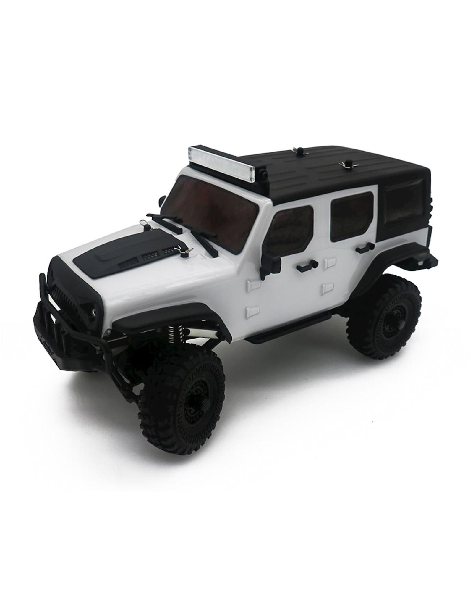 Panda 1/18 Tetra X1 RTR Mini Crawler - White