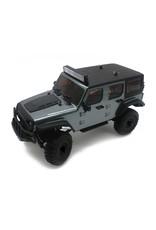 Panda 1/18 Tetra X1 RTR Mini Crawler - Gunmetal Grey