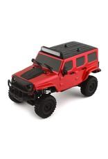 Panda 1/18 Tetra X1 RTR Mini Crawler - Red