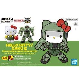 Bandai Hello Kitty x Zaku II SD