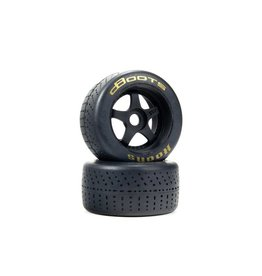 Arrma ARA550085 - 1/7 dBoots Hoons Rear 107 Gold Pre-Mounted Belted Tires