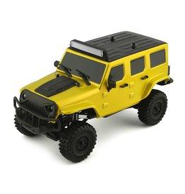Panda 1/18 Tetra X1 RTR Mini Crawler - Yellow