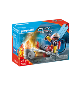 Playmobil 70291 - Fire Rescue Gift Set