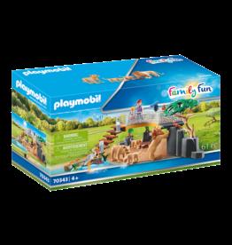 Playmobil 70343 - Outdoor Lion Enclosure