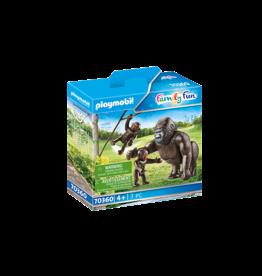 Playmobil 70360 - Gorilla with Babies