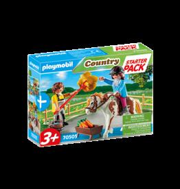 Playmobil 70505 - Starter Pack Horseback Riding