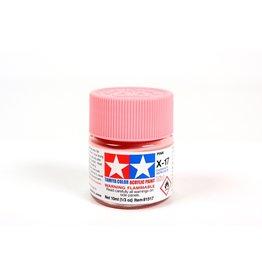 Tamiya X-17 - Pink - 10ml Acrylic