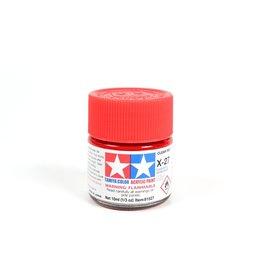 Tamiya X-27 - Clear Red - 10ml Acrylic