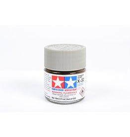 Tamiya X-32 - Titanium Silver - 10ml Acrylic