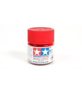 Tamiya X-7 - Red - 10ml Acrylic