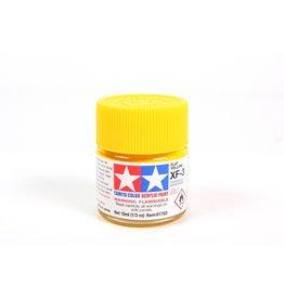 Tamiya XF-3 - Flat Yellow - 10ml Acrylic