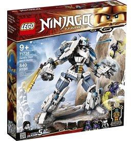 Lego 71738 - Zane's Titan Mech Battle