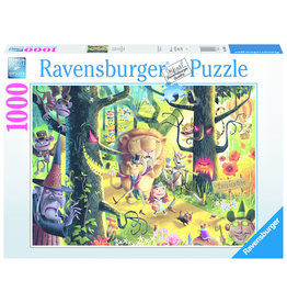 Ravensburger Lions & Tigers & Bears, Oh My! - 1000 Piece Puzzle