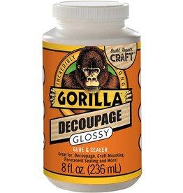 Gorilla Glue 101818 - Gorilla Decoupage Gloss 8 oz