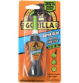 Gorilla Glue 102177 - Gorilla Super Glue Micro Precise Gel 5.5g