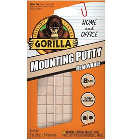 Gorilla Glue 102745 - Gorilla Mounting Putty 2oz