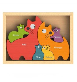Begin Again Cat Family Puzzle