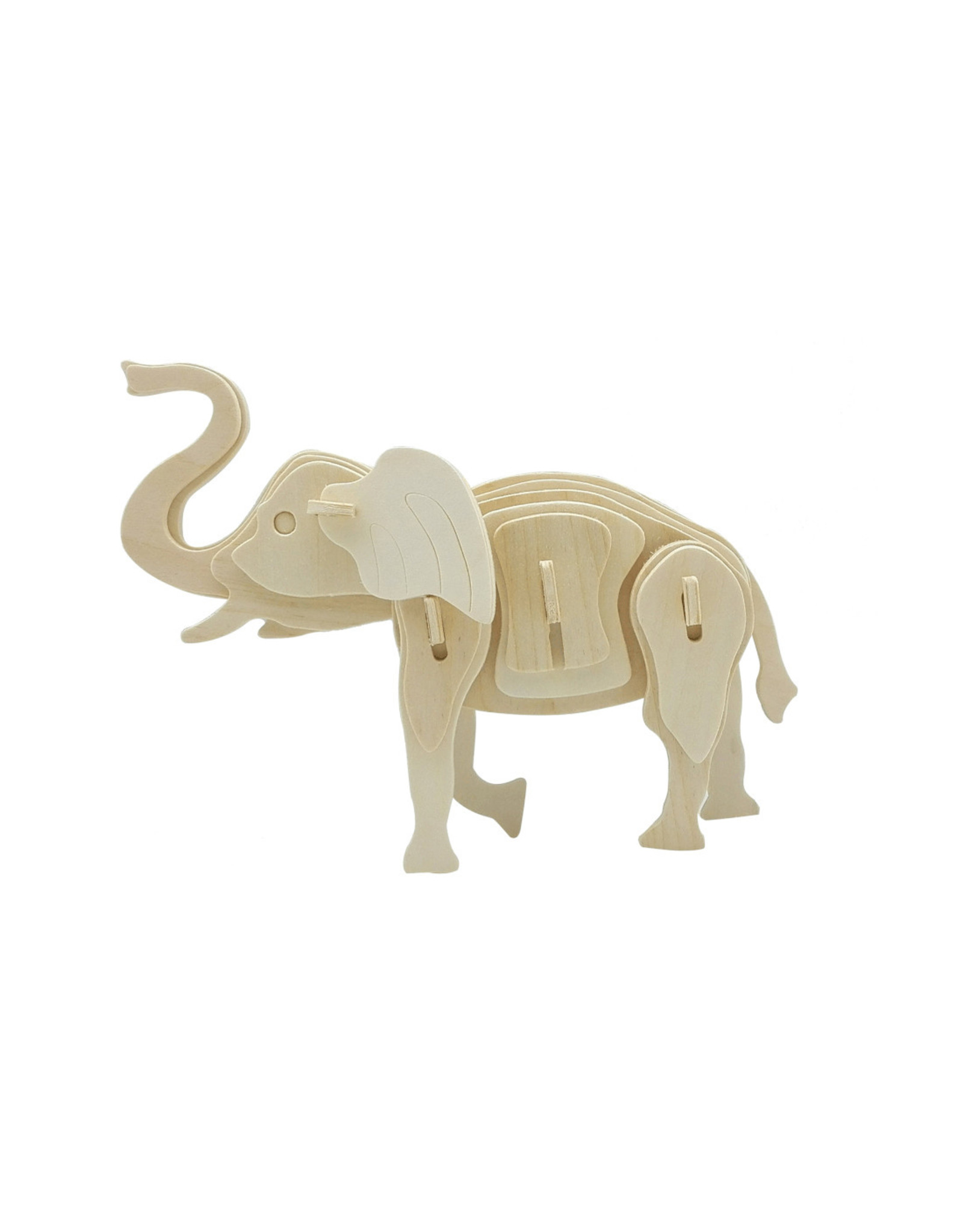 Hands Craft 3D Wooden Puzzle - Elephant