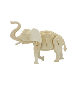 Hands Craft 3D Wooden Puzzle - Elephant
