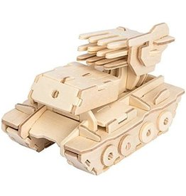 Hands Craft 3D Wooden Puzzle - Rocket Launcher