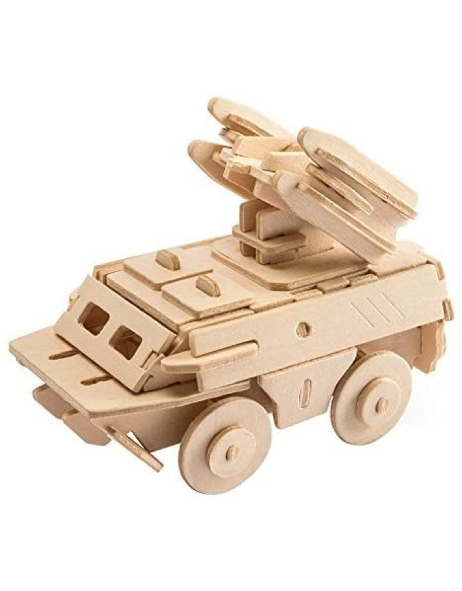 Hands Craft 3D Wooden Puzzle - Anti-Aircraft Missile