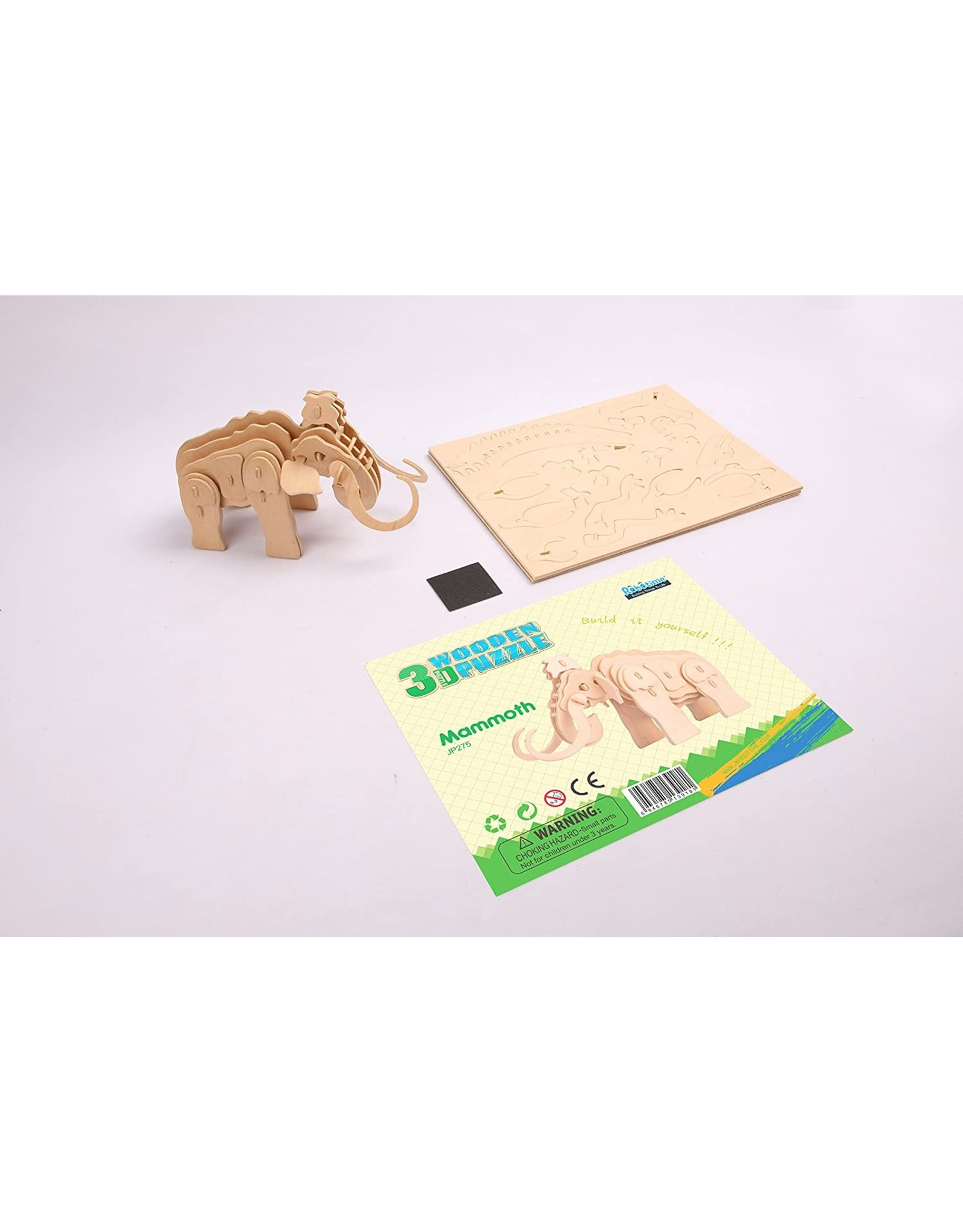 Hands Craft 3D Wooden Puzzle - Mammoth