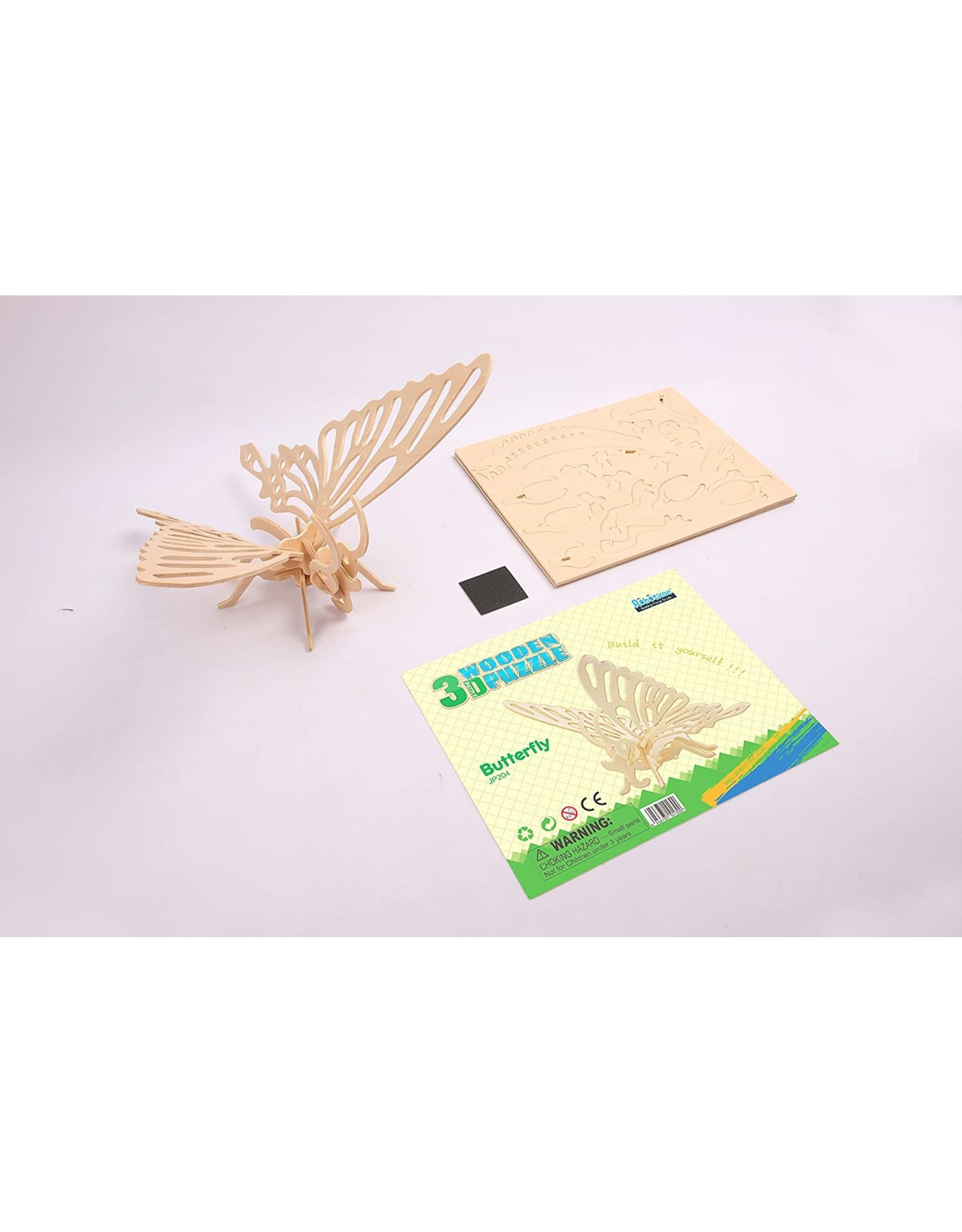 Hands Craft 3D Wooden Puzzle - Butterfly