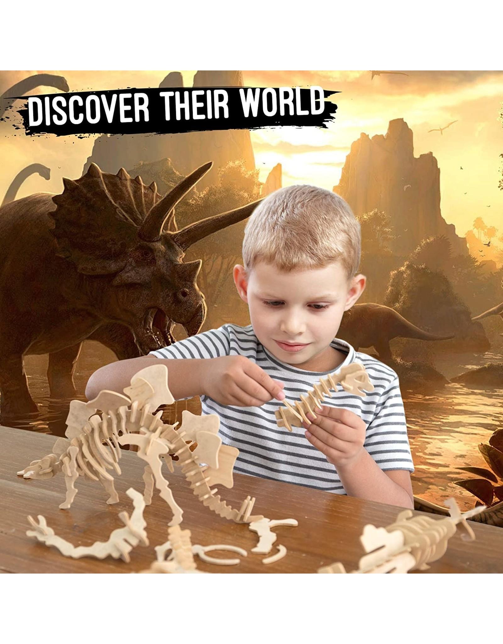 Hands Craft 3D Wooden Puzzle - T-Rex