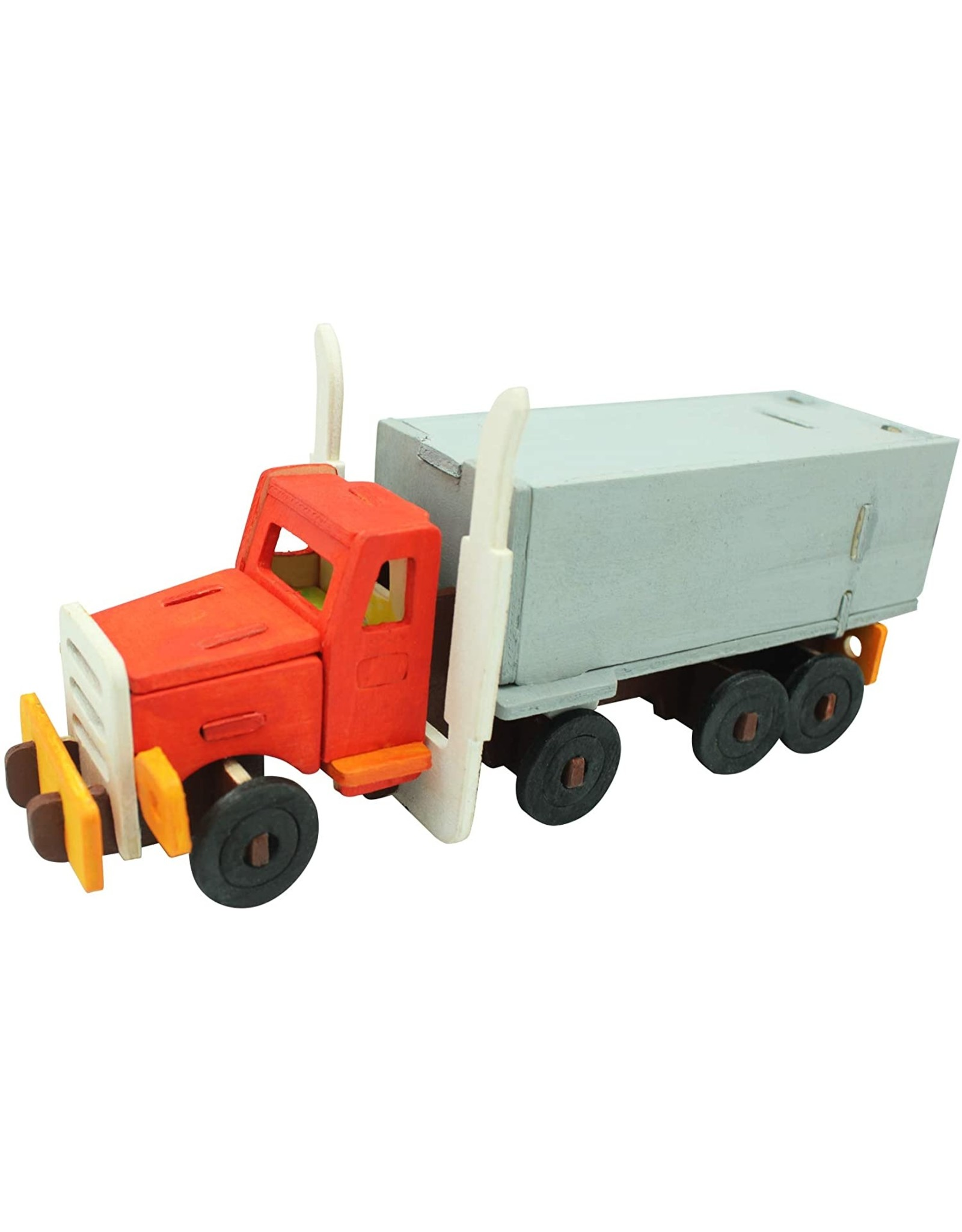 Hands Craft 3D Wooden Puzzle Paint Kit - Truck