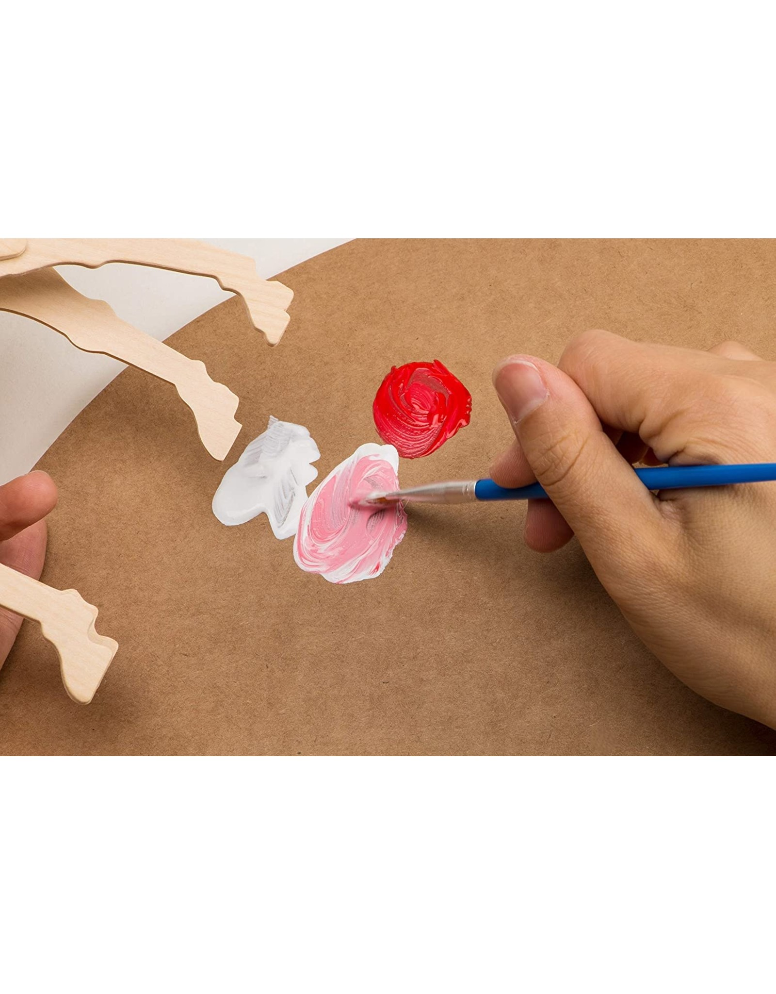 Hands Craft 3D Wooden Puzzle Paint Kit - Locomotive