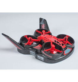Flight Lab Toys FHT 1000 - HoverCross RTF Drone - Red