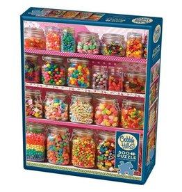 Cobble Hill Candy Shelf - 500 Piece Puzzle