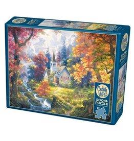 Cobble Hill Chapel of Hope - 500 Piece Puzzle